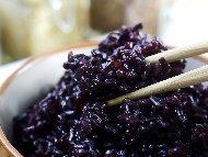 Подходяща гарнитура за скариди от черен императорски ориз